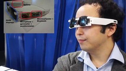7f34fec6c5b87a Au Japon, des lunettes permettent de dormir au boulot en toute discrétion  sur Orange Vidéos
