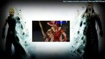 Dissidia Final Fantasy - FFVII Advent Children Cloud & Sephiroth Battle Recreation (Spanish)