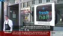 Un magasin de surgelés halal à Roubaix