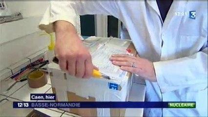 ACRO - Analyses de la radioactivité dans des urines d'enfants japonais - France3 Caen 09/03/2012
