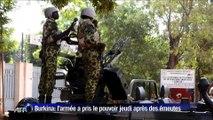 Burkina Faso : l'armée se place aux commandes du pays
