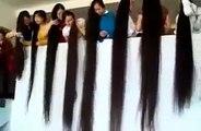 Voilà d'où viennent les extensions de cheveux naturels  ! Ces femmes ont des cheveux de plusieurs mètres !