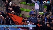 Caen 0-3 OM : le but de Mathieu Valbuena (52e)