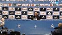 Conférence de presse après OM 0-0 Bordeaux