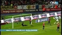 Lille 3-2 OM : le but de Valbuena (62e)