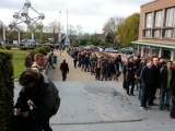Les Français de Bruxelles votent au Heysel