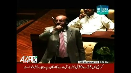 Dawn News Anchor Ameer Abbas Blast on PPP and CM Sindh Qaim Ali Shah for doing nothing in thar