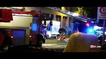 Un violent incendie à Molenbeek