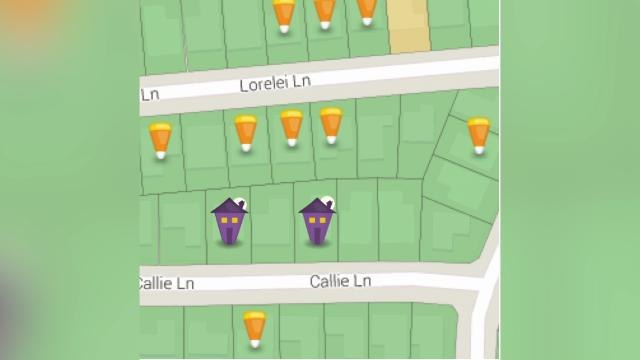 Halloween Treat Map App Shows Trick-Or-Treaters Where To Go