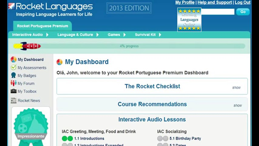 Rocket Portuguese Review. How To Learn Portuguese Online