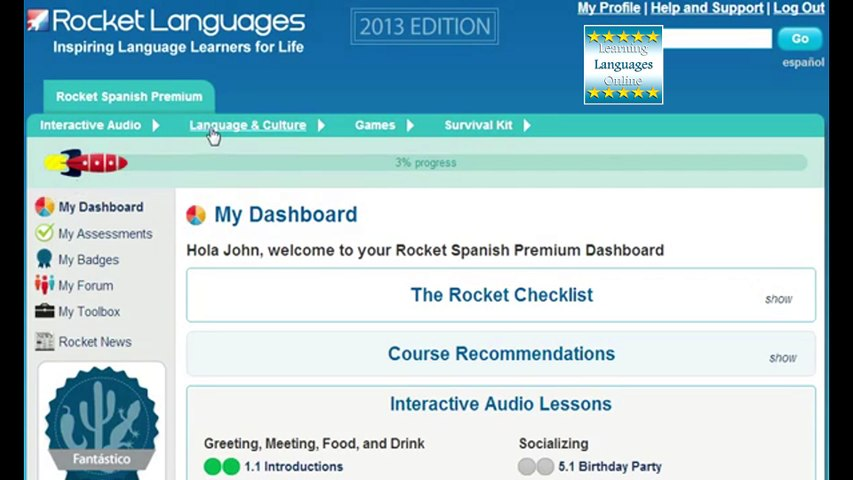 Rocket Spanish Review. How To Learn Spanish Online