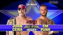 John Cena vs. CM Punk, WWE Monday Night RAW 13.06.2011