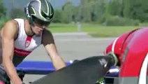 Cyclisme - La pub Kuota Kougar - Aero Bike