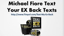 Michael Fiore Text Your EX Back Texts - Text Your EX Back 500 Questions