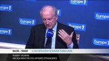 """Hubert Védrine : """"La France est encore une puissance mondiale"""""""
