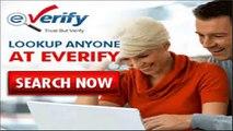 [eVerify UPDATED]  eVerify Background Check + eVerify Background Check REVIEW & Unlimited Background