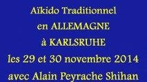 Aïkido traditionnel en ALLEMAGNE avec Alain Peyrache Shihan