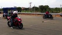 Honda CBR 1000RR vs Yamaha R1 - Araba Tutkum