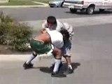Fight Baston Bagarre Tape 2 Jeunes