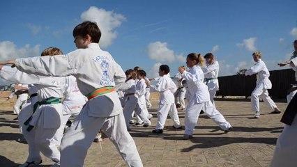 Stage Karate survivor - October extrem training