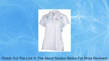 Adidas Womens Climalite Starburst Print Athletic Polo Shirt Review