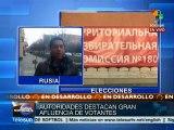 Ucrania: elección en Donetsk y Lugansk se realiza sin enfrentamientos