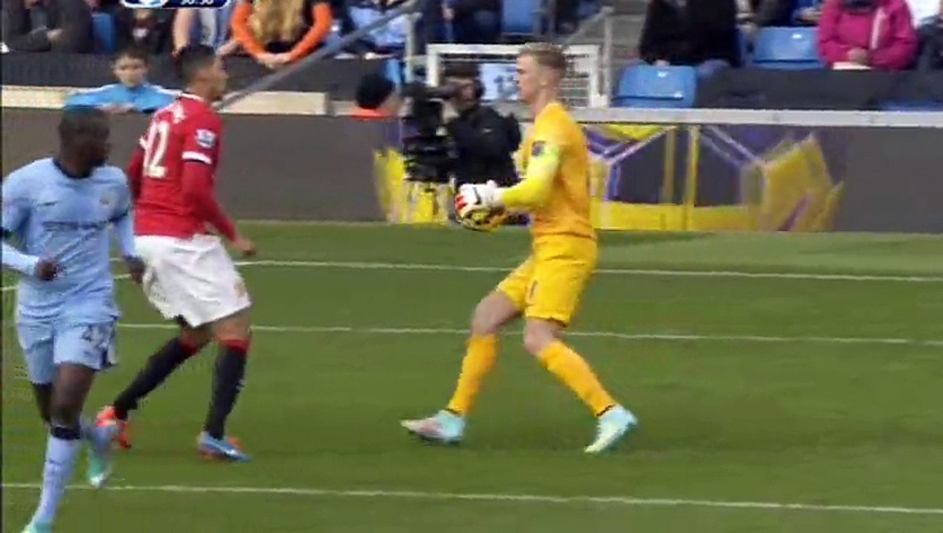Manchester City 1-0 Manchester United [02-11-2014] Highlights