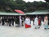 Mariage Japonais au Sensô Ji (Asakusa, Tôkyô, Japon)