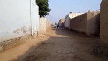 chak no 181 np .,.,main street of chak no 181 np and health house