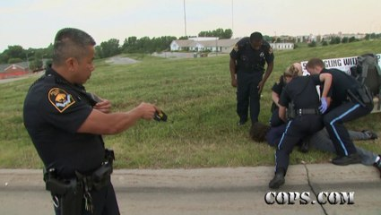Officers Jackie Liebe and Anthony Nguyen - Omaha Police Department