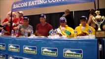 Bacon Fest 2014 Bacon Eating Contest