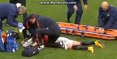 Marcos Rojo Injury ~ Manchester City vs Manchester United 1-0 02-11-2014 EPL