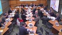 15 octobre 2014: Commission du développement durable et de l'aménagement du territoire
