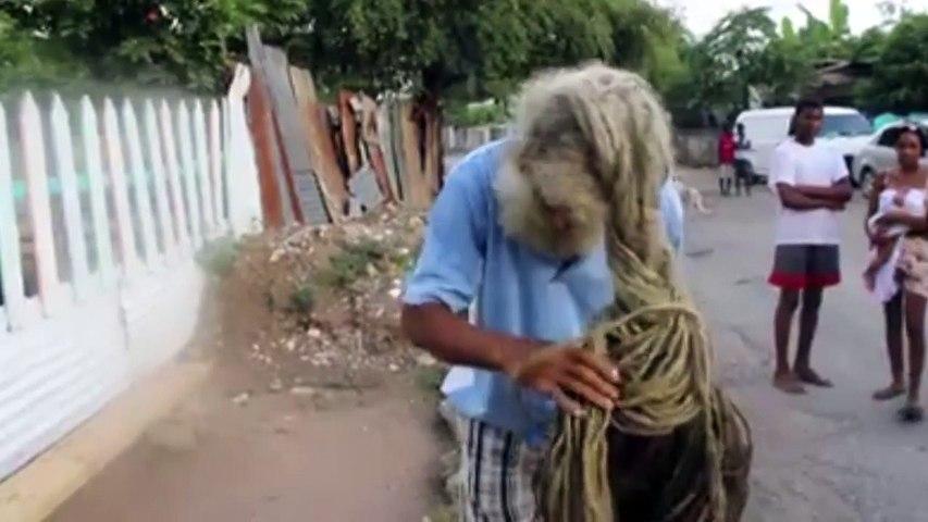 Longest Hair On A Rastaman...Growing For 40 Years
