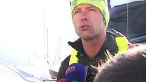 """Voile / Route du Rhum : Thomas Coville : """"J'ai l'impression d'être un accidenté de la route"""" 03/11"""
