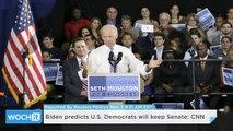 Biden Predicts U.S. Democrats Will Keep Senate: CNN