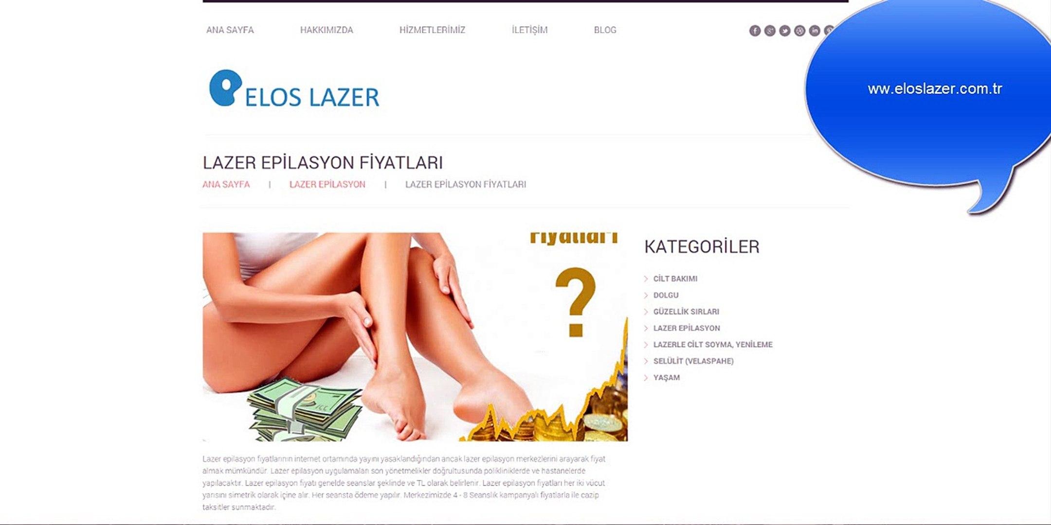 Lazer Epilasyon Fiyatlari