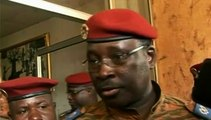 """Crise au Burkina : """"Nous ne sommes pas là pour usurper le pouvoir"""" dit le président par intérim"""