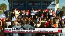 Republicans forecast to win Senate in U.S. midterm elections
