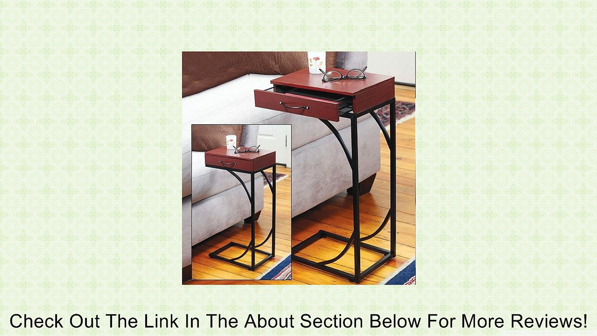 Sofa Side Table With Drawer By