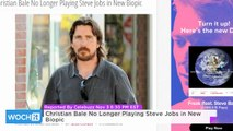 Christian Bale No Longer Playing Steve Jobs in New Biopic