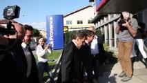 Une journée de campagne avec Nicolas Sarkozy à Marseille