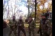 Чеченцы на Украине видео. Батальон чеченцев Кадыровцев на Донбассе