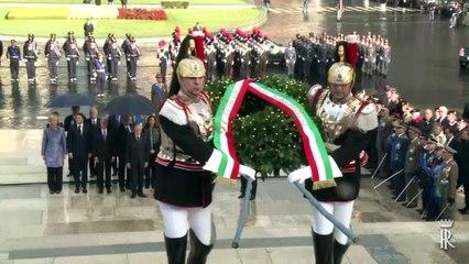 """Celebrazioni del 4 novembre, """"Giorno dell'Unità Nazionale e Giornata delle Forze Armate"""""""