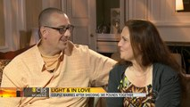 Couple marries after shedding 380 pounds together