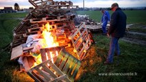 Des feux de la colère allumés dans l'Aisne