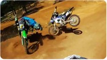 Motorcross Race Crash | Bunk Bikes