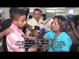 Magnifique réaction d 'une mère face à l'assassin de son fils !