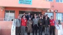 Erciş'te Öğrenciler Kızılay Konulu Program Hazırladı