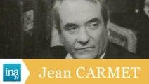 """Jean Carmet """"Comment réussir quand on est con et pleurnichard ?"""" - Archive INA"""